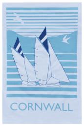 Organic cotton tea towels from Cornwall's Love Liga, £9.50