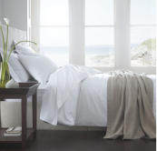 Organic cotton bedlinen from The Fine Cotton Company