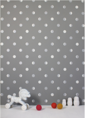 Moon Crescents non-woven wallpaper from luxury French brand Bartsch. www.bartsch-paris.com