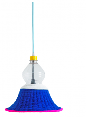 The Guambionos collection of Pet lamps is characterized by the use of vibrantly coloured wool