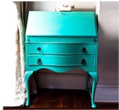Bespoke Edwardian bureau upcycled by Out Of The Dark, £350, www.themintlist.com
