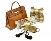 Vintage bags from Katheleys of Belgium, inc Hermes Kelly bag, circa 1970, at £2,900