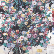 Artwork for Woodland Rose. Fabrics were screen-printed for many years