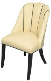 Fluted Rebecca chair by Shilou Furniture. It's moved production from China to the UK. www.shiloufurniture.com