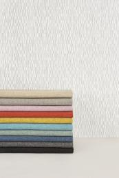 Woven Image hard wearing fabrics include the 100% polyester Focus collection, which can be recycled. Very soft, it's 100,000 Martindale rub test certified and comes in more than 20 colours