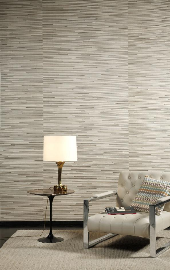 Natural Seagrass Wall Covering From Urbane Living, Around £26.50 Per M2.  Www.
