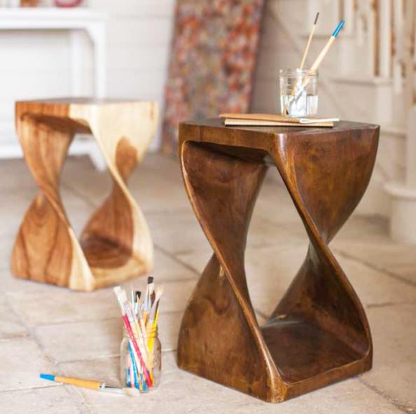 Monkey Pod Wood Surin Nfinity Tables Are Made In Thailand For Fair Trade  Furniture Company Myakka