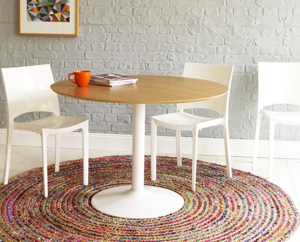 Pavan rug by Habitat is woven in India from recycled jute fibres and yarns