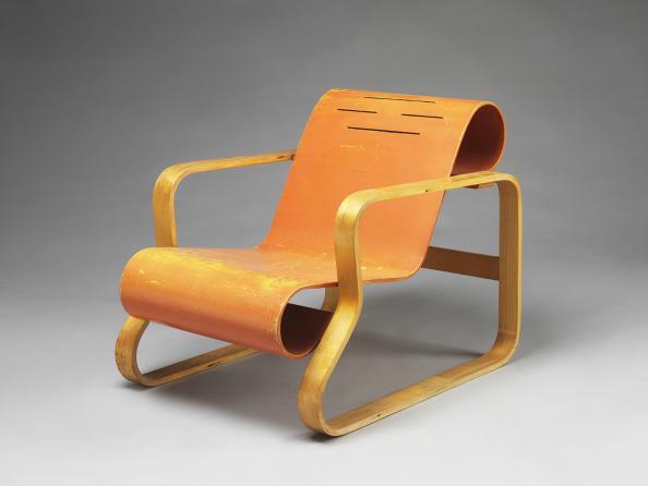 Alvar Aalto armchair, Finland 1930. Photograph: V&A Museum London
