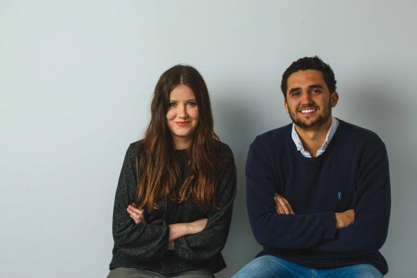 Wearth co founders Imogen Minoli and Edward Davies