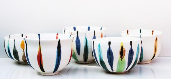 Kyra Mihailovic's Tulip bowls, £40 each