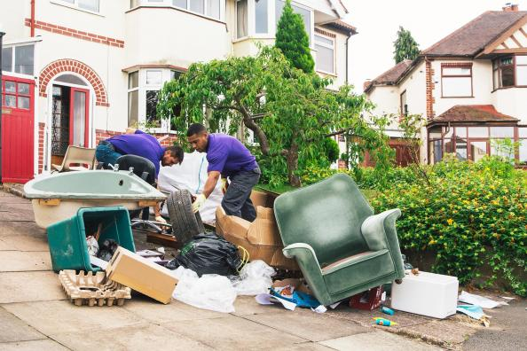 Clearabee service is an on demand rubbish removal service