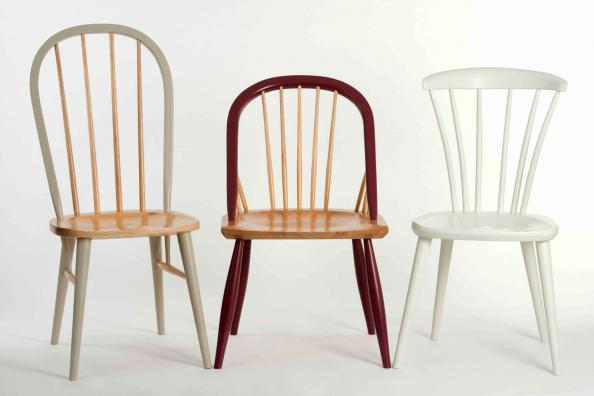 Arden Sherwood and Thetford chairs in combinations natural and painted wood & John Lewis of Hungerford launches jaunty new wooden chair collection ...