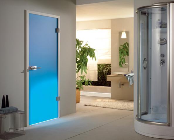 Blue Frosted Glass Door From Doors 4 UK, Www.doors4uk.co.uk
