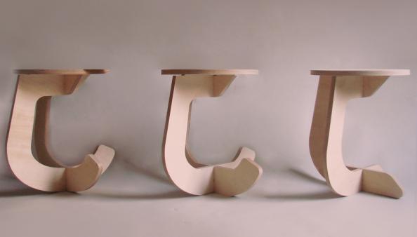 flat pack furniture design. Trio Of Fabsie Rocking Stools Flat Pack Furniture Design I