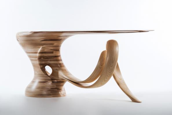 Waiho console table by Robert Scott
