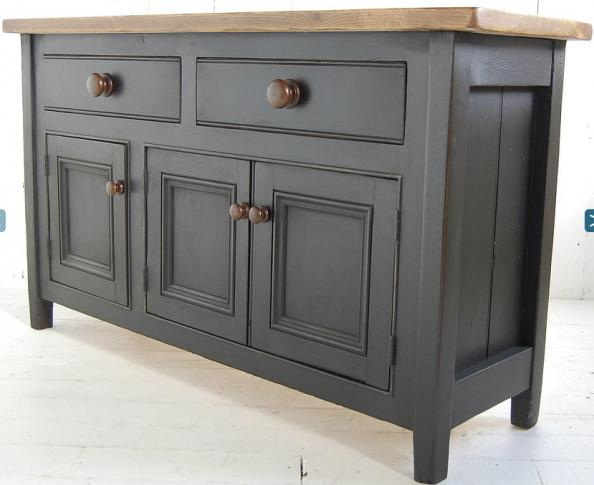 Sideboard in reclaimed wood, various sizes, from £795, by Eastburn Country  Furniture