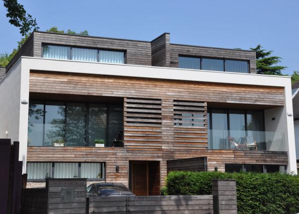 Kebony softwood becomes hardwood deco inspiration for Funkis house