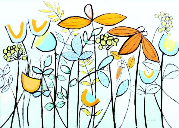 Garden 3 by Bess Avery, £700