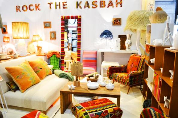 Philippe xerri 39 s bijou house in tunis deco inspiration for eco friendly interiors - Rock the kasbah deco ...