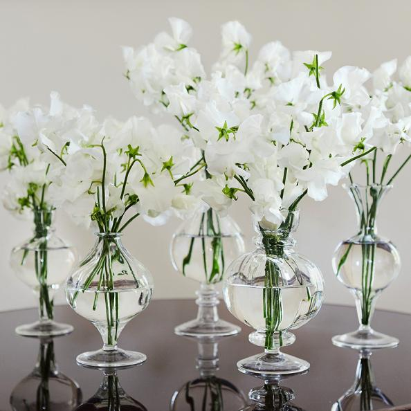 Flower Arranging Elegant Mini Glass Vases Deco Inspiration For