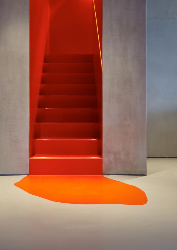 The Resin Can Be Used To Cover Stairs..be As Bold As You Dare