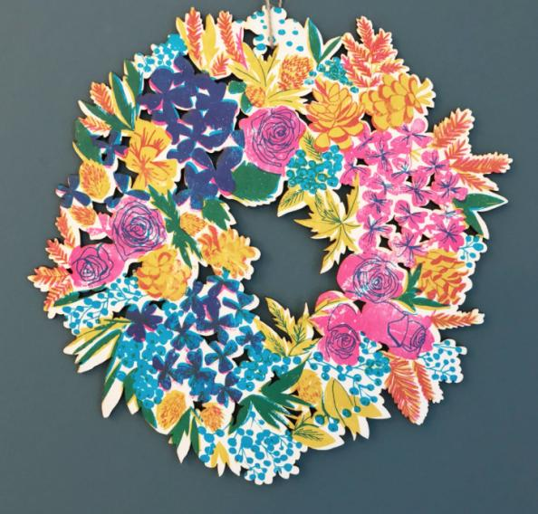 bluebellgray wreath