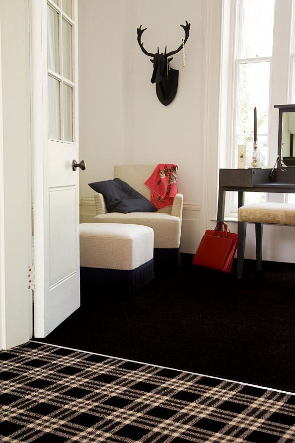Brinton's Bell Twist, from £30m2, meets the Carpet & Rug Institute Green Label