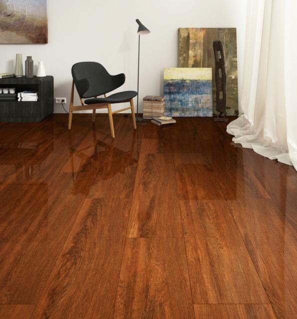 Wood-look ceramic tiles | Deco - inspiration for eco friendly interiors