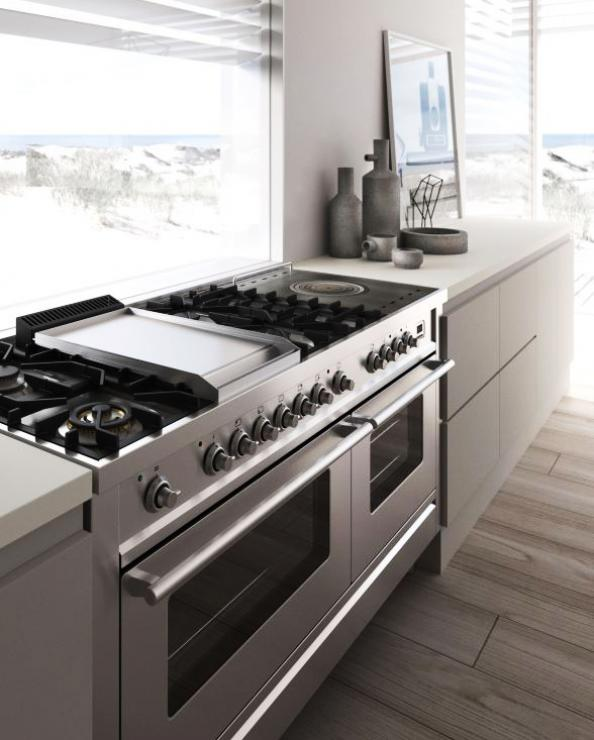 Freestanding Range Cookers Uk Part - 50: Ilve Roma 150cm Range Cooker Is Made In Italy