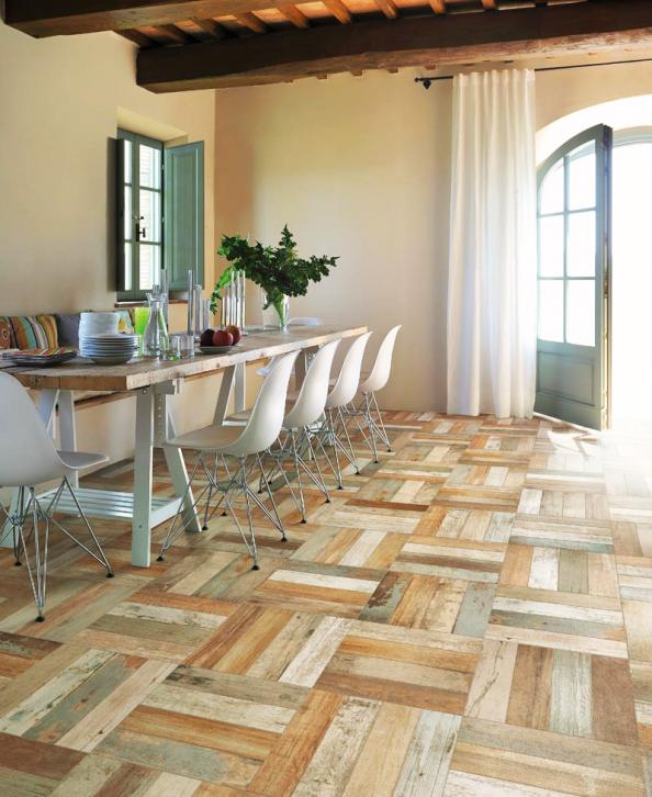 Wood Look Ceramic Tiles Deco Inspiration For Eco Friendly Interiors