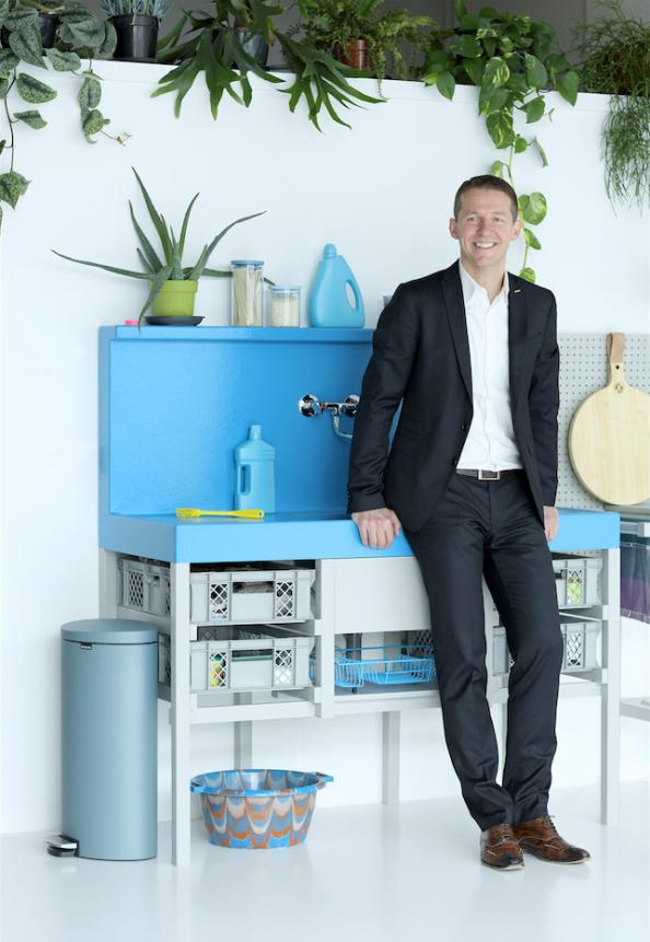 Tijn van Elderen of Dutch global homewares brand Brabantia