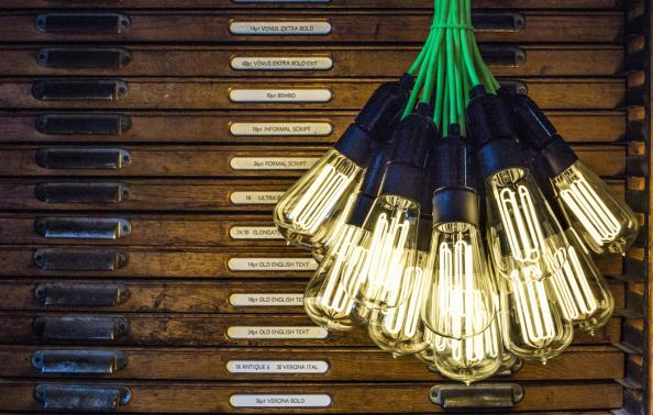 Urban Cottage Industries' FactoryLux Eco Filament bulbs offer 25,000 hours of light