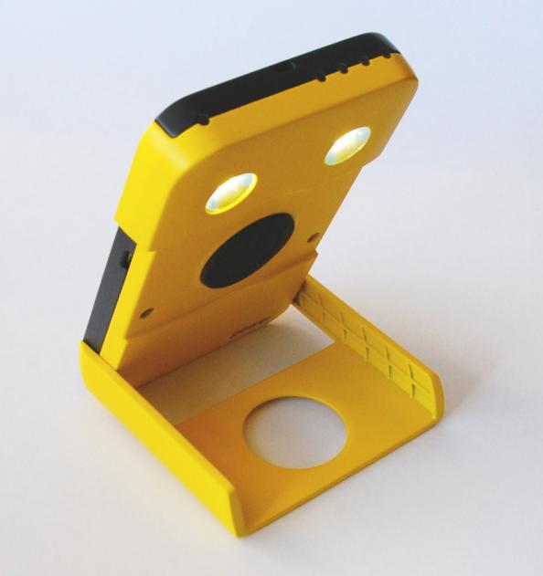 WakaWaka Power has a more powerful solar cell that can charge devices such as phones and tablet computers