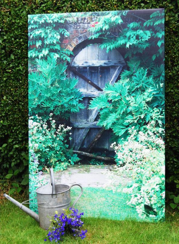 A Trompe Lu0027oeil From Insideout Garden Art
