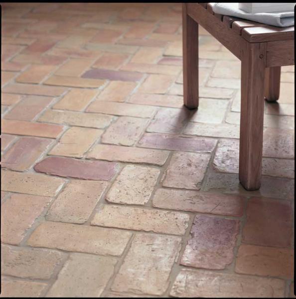 Recycled Polish 19th Century Clinker Bricks Pisos Rusticos