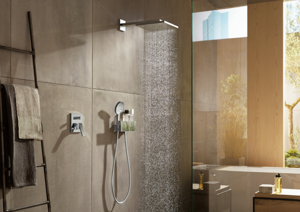 Hansgrohe products have EcoSmart technology to cut water use by some 60 per cent