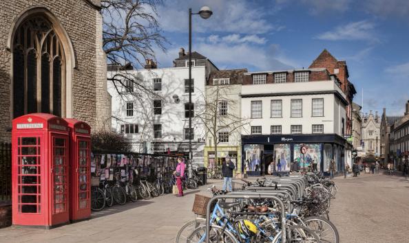 St Andrew's Street Cambridge is the UK's most eco high street according to SaveOnEnergy