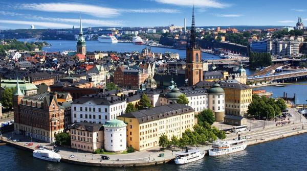Sweden's capital Stockholm