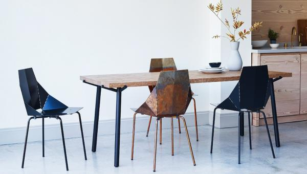 A fantastic table..the oak Branch table by Blu Dot, from £1,395 at Heal's