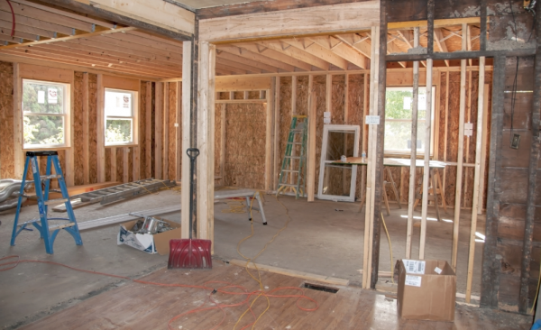 renovation work is nearly always more expensive than you think